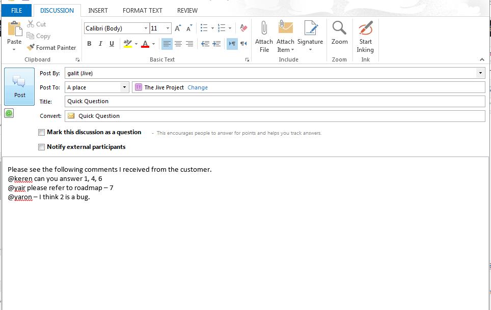 convert mail