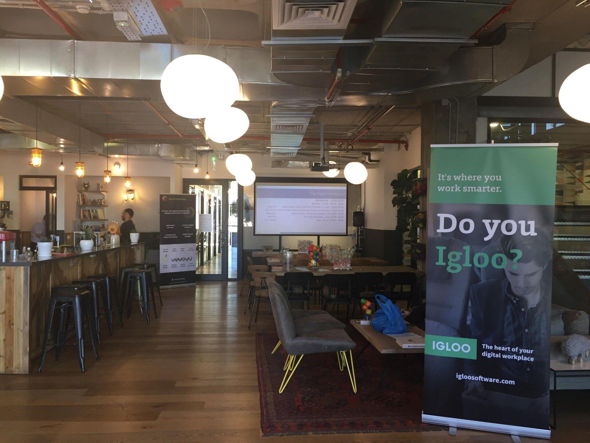 מפגש חווייתי בנושא The Digital Workplace